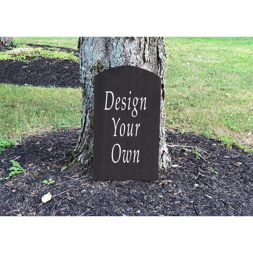 Halloween Tombstone Decoration - Halloween Yard Decor - Design Your Own! - Lola's Design Loft