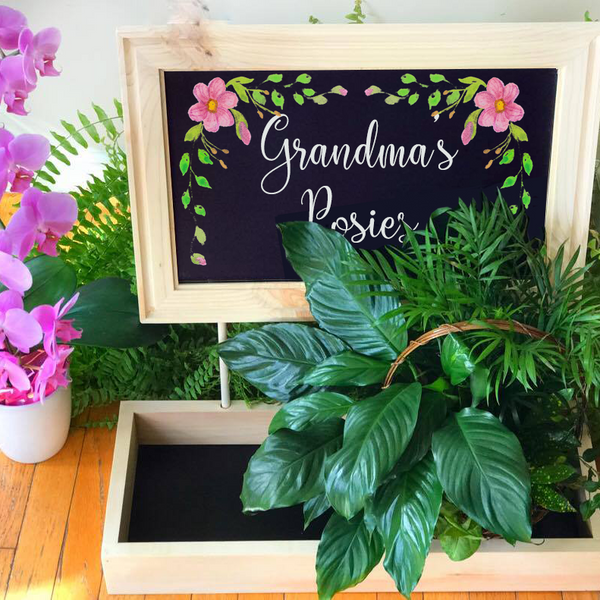 Personalized Garden Planter