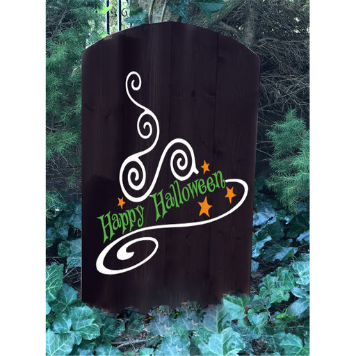 Halloween Tombstone Decoration - Halloween Yard Decor - Design Your Own - Happy Halloween - Lola's Design Loft