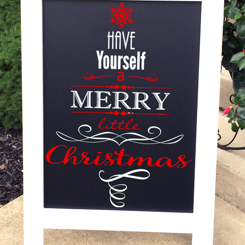 Outdoor Christmas Decor - Have Yourself a Merry  Christmas