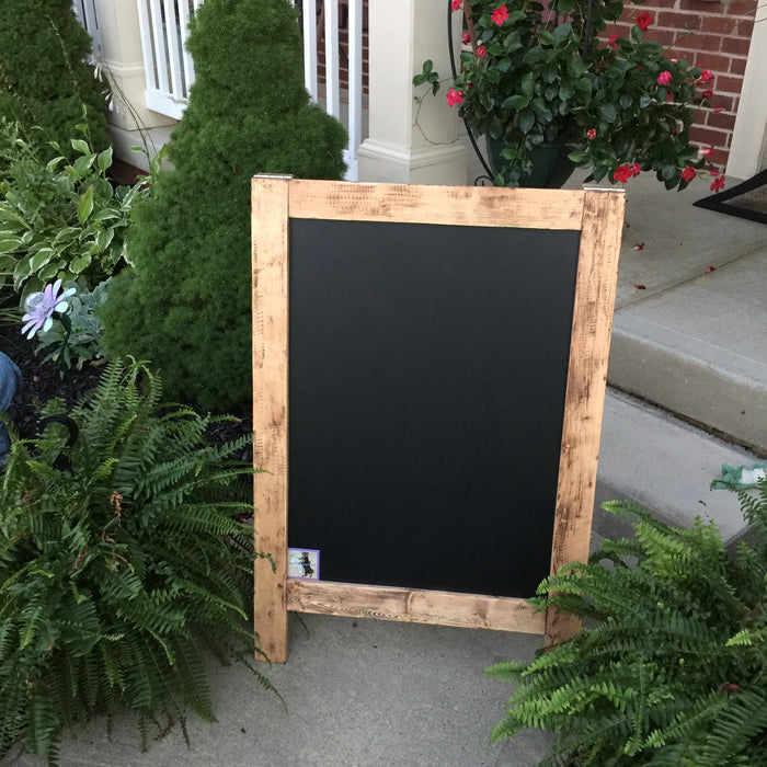 Outdoor Christmas Decor -  Christmas Decor - Christmas Chalkboard - Outdoor Decor - Happy Holidays - Peace - Large - Lola's Design Loft