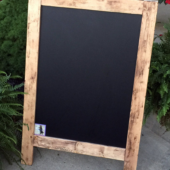 Double Sided Lighted Sidewalk Sign - with Dimmable LED lights! - Lola's Design Loft