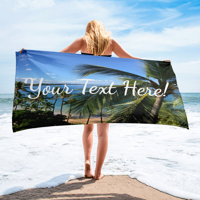 Wedding Honeymoon Towel!  Customize Your Own Today!