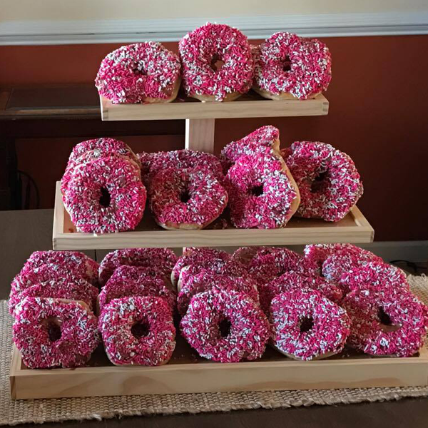 Wooden Cupcake Stand or Donut Stand