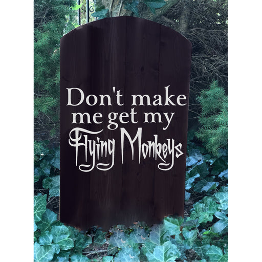 Halloween Tombstone Decoration - Halloween Yard Decor - Design Your Own - Flying Monkeys - Lola's Design Loft