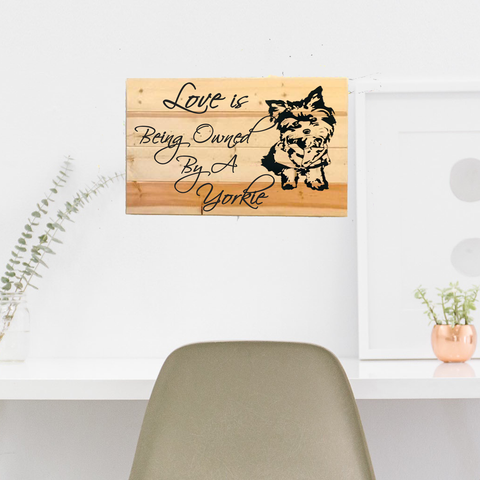 Pet Lover's Wall Decor