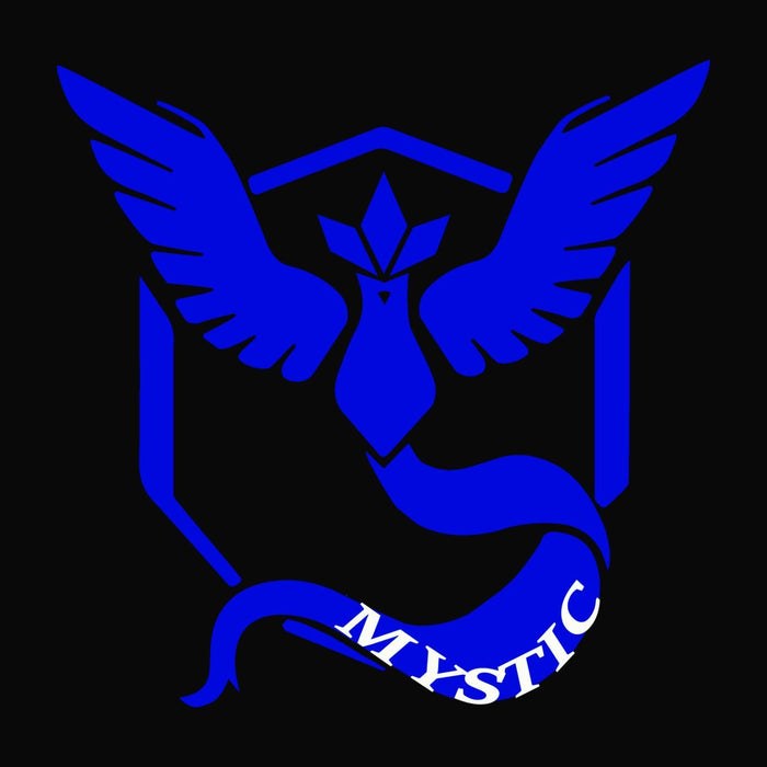 Car Decal - Pokemon' - Team Mystic - Lola's Design Loft