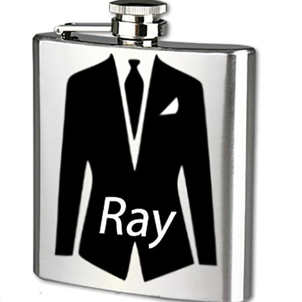 Flask - Groomsmen Gift - Groomsman Gift - Personalized Flask