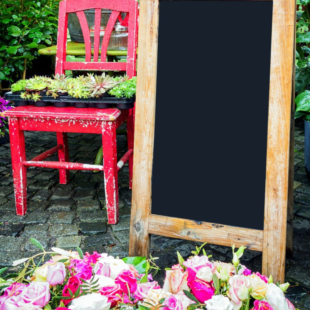 Personalized Wedding Chalkboard Sign - Design Your Own!