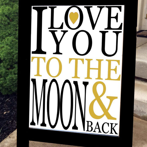 Chalkboard, Wedding Chalkboard, Wedding Sign, Large Standing A-Frame Chalk Board - Lola's Design Loft