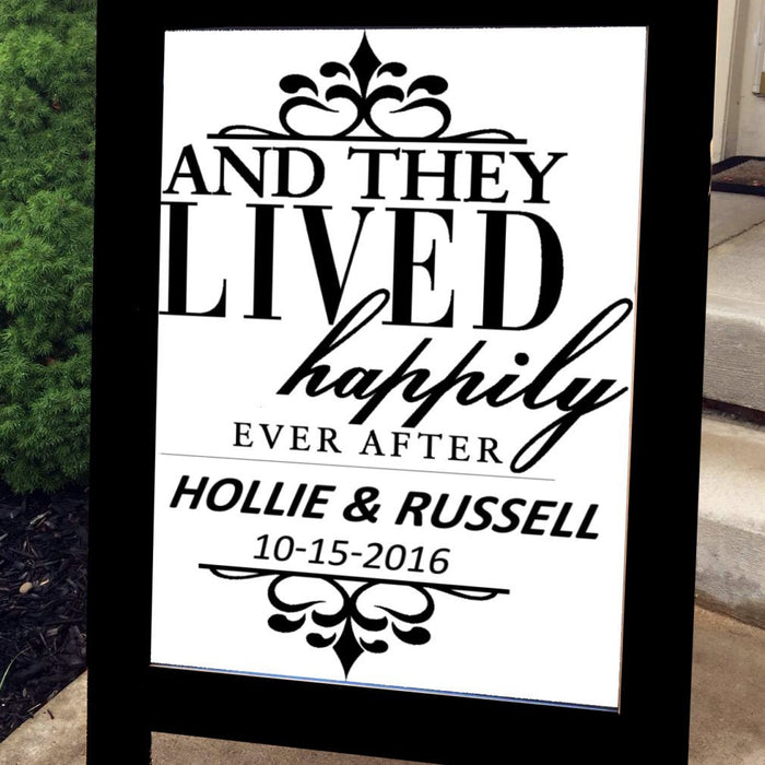 Happily Ever After - Wedding Sign - Lola's Design Loft