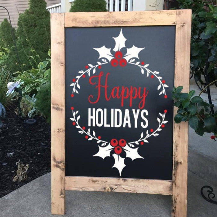 Happy Holiday - Outdoor Christmas Decor - Lola's Design Loft