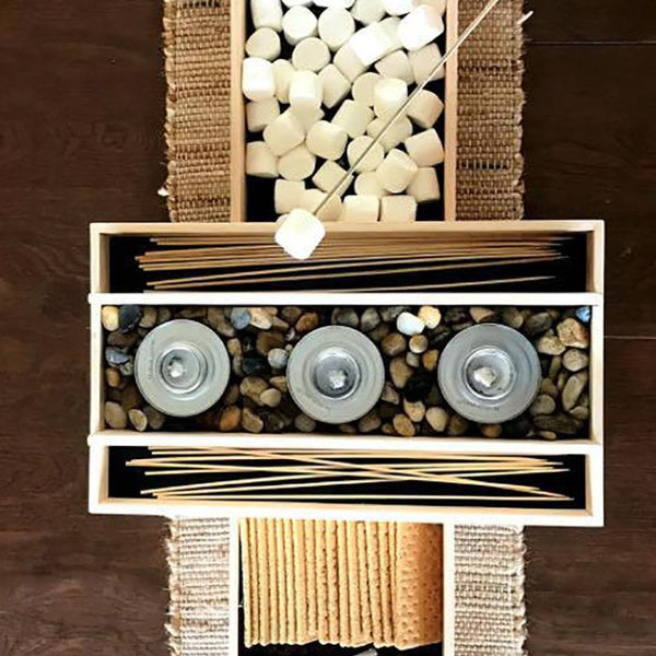S'mores Bar -Wedding S'mores Bar - S'mores Station - Customizable