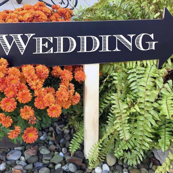 Wedding Signs - Wedding Arrow Signs - Wedding Chalkboards - Wedding Direction Signs