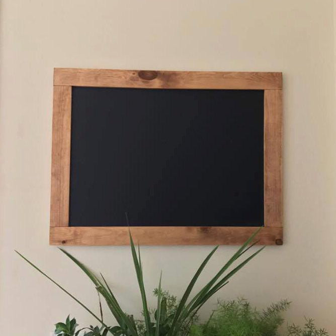 Established Family Name Sign - Rustic Chalkboard - Lola's Design Loft