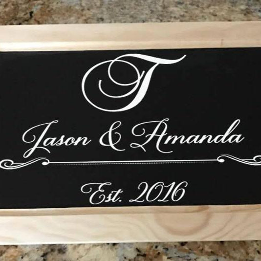 Personalized Serving Tray - Lola's Design Loft