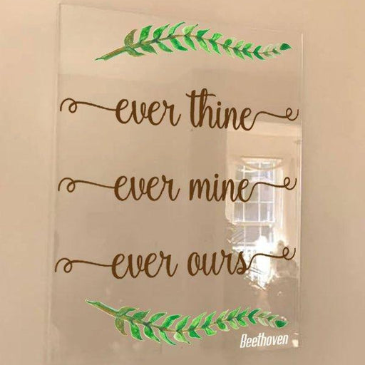 Acrylic Wedding Sign,  Design Your Own - Lola's Design Loft