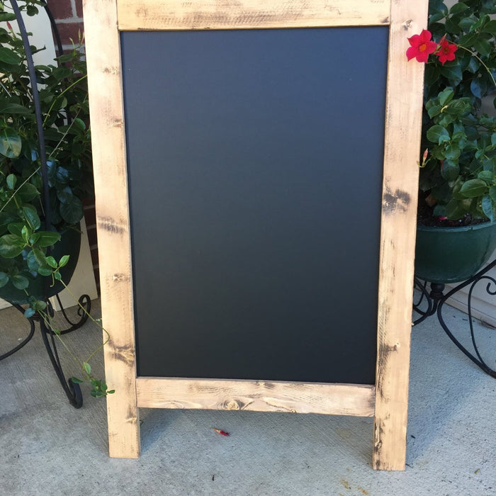 Wedding Sign - Wedding Chalkboard - Chalkboard Sign - Restaurant Sign - Business Sign - Personalized Sign -  A-Frame Chalk Board Sign - Lola's Design Loft