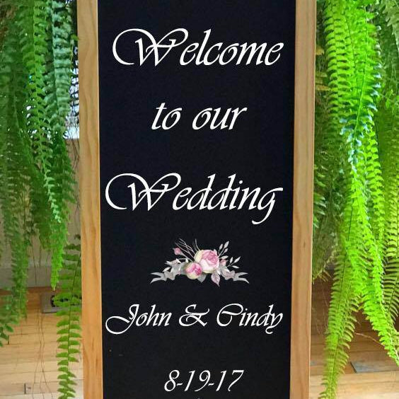 Wedding Welcome, Wedding Signs, Rustic Wedding Signs, Reception Sign, Wedding Decor, Wedding Theme Sign, Wedding Sign, Wedding Chalkboard - Lola's Design Loft