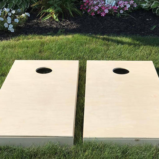 Non Painted Cornhole Boards, Plain Cornhole Boards, Wedding Cornhole Boards, Corn Hole Boards, Corn Toss Boards, DIY, Optional LED Lights - Lola's Design Loft