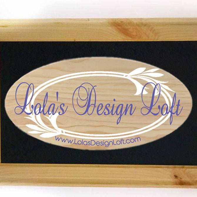 Wedding Established Sign - Family Name Sign - Monogrammed Wood Sign - Last Name Sign - Personalized Sign - Custom Name Sign - Wedding Gift - Lola's Design Loft