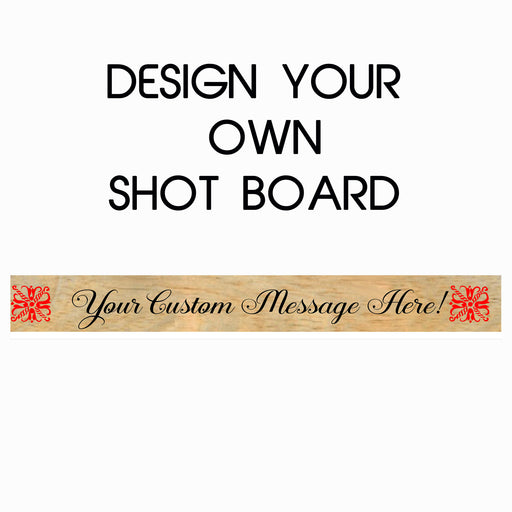 Design Your Own Shot Ski - Custom Shot Board - Lola's Design Loft