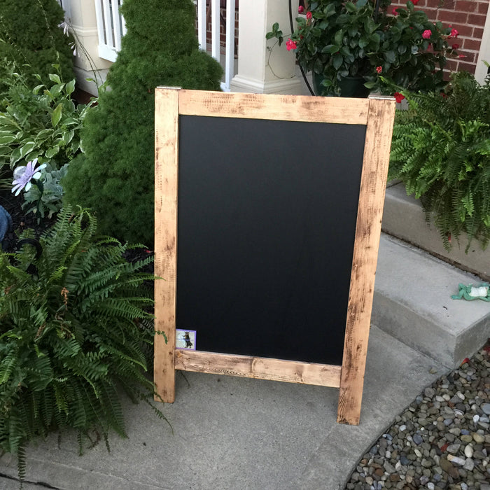 Large Wedding Bar Sign - Custom Bar Sign - Drink Menu Sign - Wedding Drinks - Rustic Wedding Sign - Wedding Chalkboard Sign - Wood Bar Menu - Lola's Design Loft
