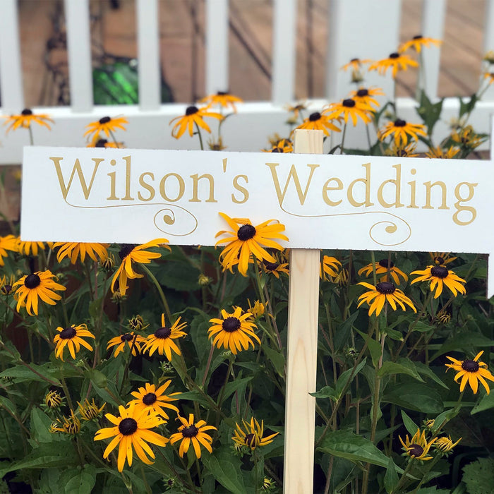 Wedding Direction Signs - Wedding Arrow Signs - Wedding Chalkboards - Custom Directional Signs - Rustic Wedding Signs - Outdoor Wedding Sign - Lola's Design Loft