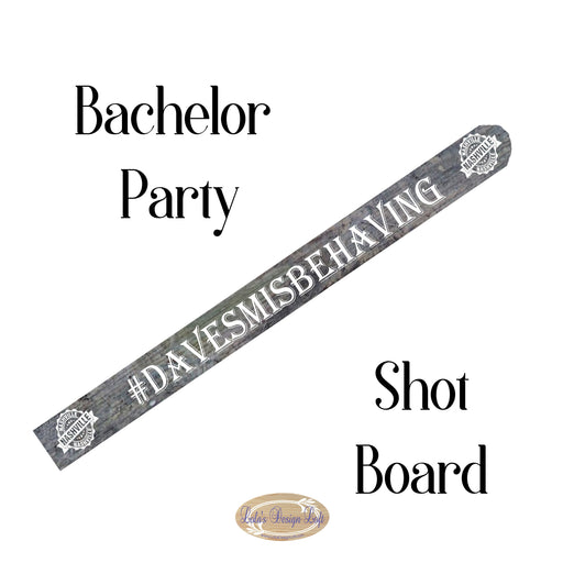 Shot Board, Wedding Shot Board, Tailgate, Drinking Game, Shot Glasses, Bachelor Party, Drinking, Party, Customize Your Own - Lola's Design Loft