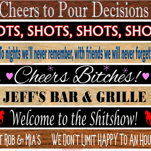 Shot Board, Super Bowl Party, Wedding Shot Board, Drinking Game, Shot Glasses, Bachelorette Party, Unique Gift, Birthday Party, Customize Me - Lola's Design Loft