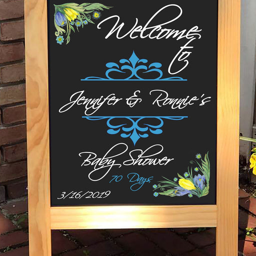 Baby Shower Sign - Baby Shower Decor - Lola's Design Loft