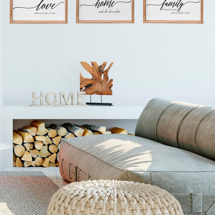 Farmhouse Wall Decor Set, Coastal Wall Decor Set, Wall Decor Set - Lola's Design Loft