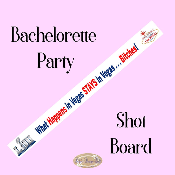 Shot Board, Wedding Shot Board, Tailgate, Drinking Game, Shot Glasses, Bachelorette Party, Vegas, Drinking Party, Girls Night, Customize Me! - Lola's Design Loft