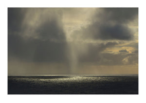 Shafts of Light Over Sea