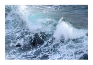 Large Breaking Wave - Cornwall