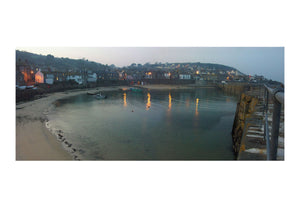Mousehole in Cornwall at Dusk