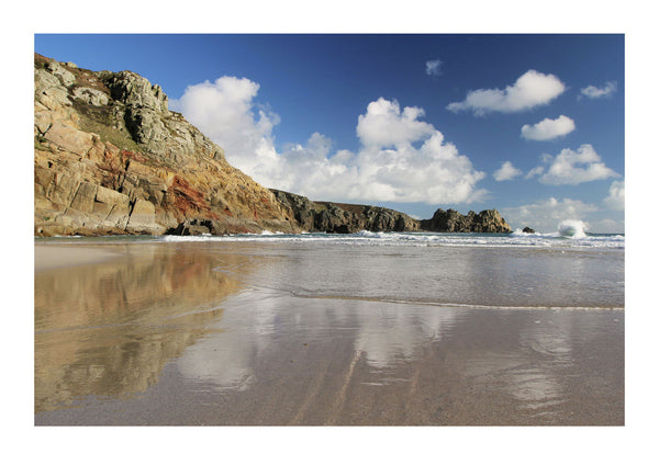 Green Bay at Porthcurno in Cornwall