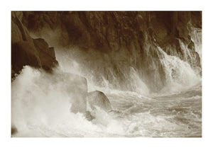 Stormy Sea - Cornwall