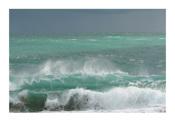 Breaking Waves at Porthcurno
