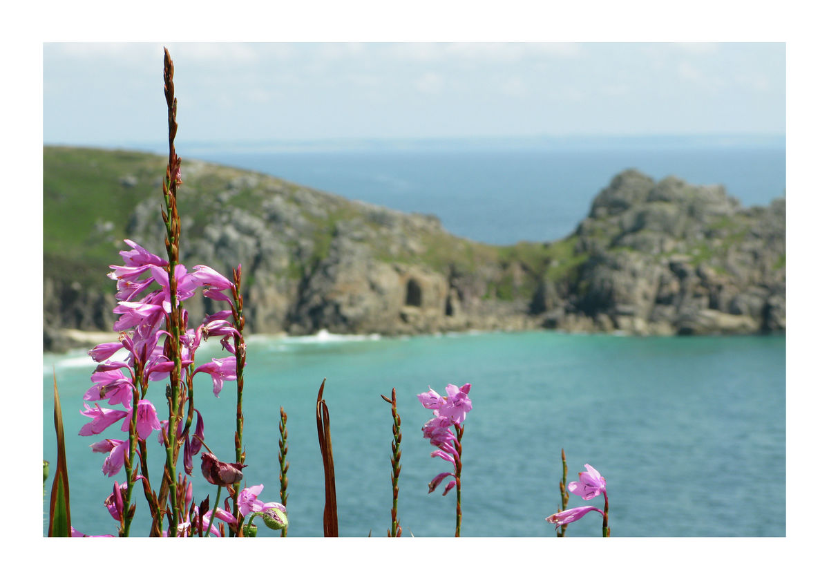 Logan Rock, Porthcurno in Cornwall