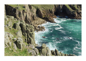 Coastline - Near Land's End in Cornwall