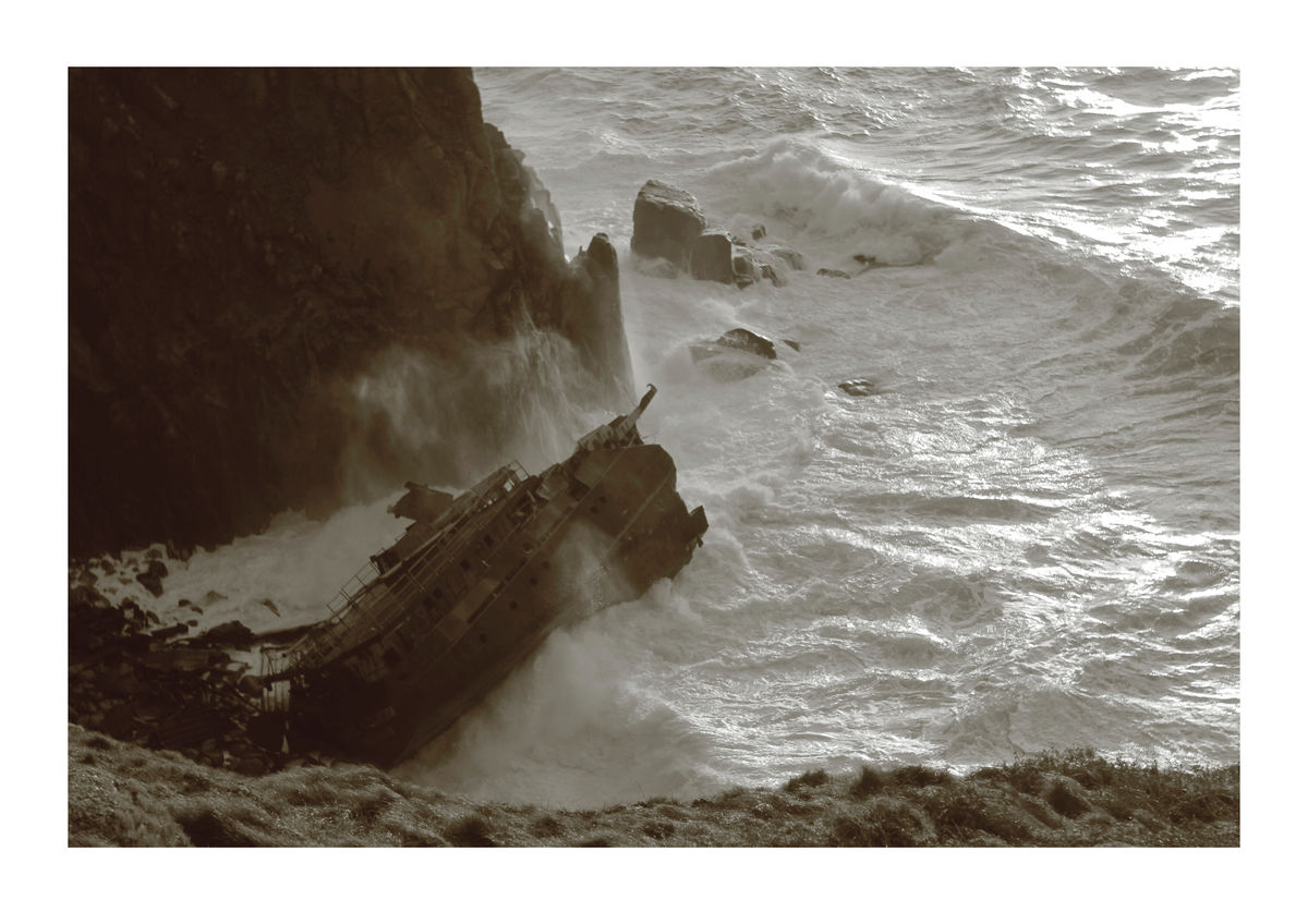 Shipwreck - Cornish Coast