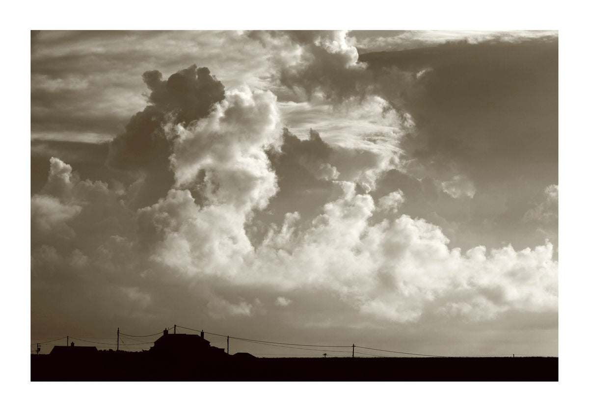 Dramatic Sky Over St. Levan in Cornwall