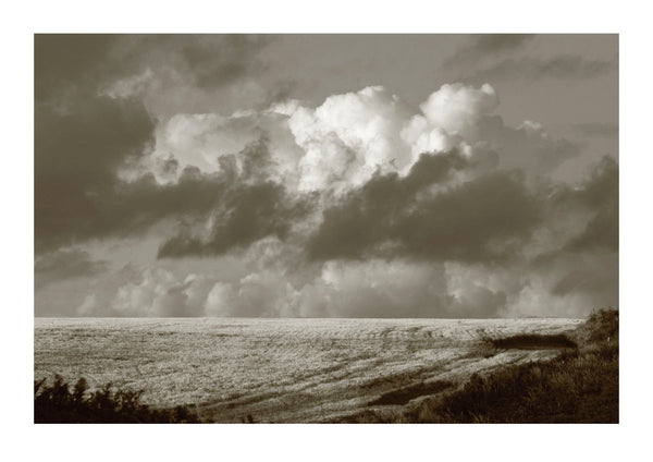 Cumulus Clouds Over Treen - Cornwall