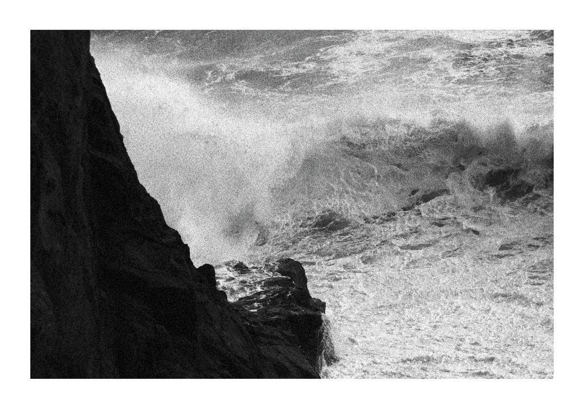 Crashing Wave - Cornwall