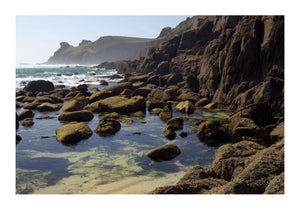 Rockpools at Nanjizal, Cornwall