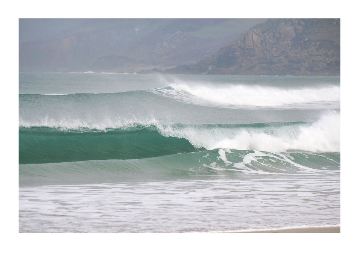 Big Surf at Sennen Cove - Cornwall