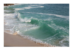 Breaking Wave at Porthchapel Beach in Cornwall