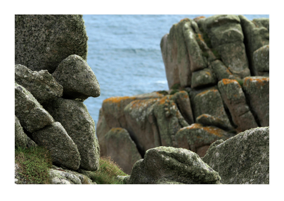 Rocks on Clifftops in St Levan, Cornwall