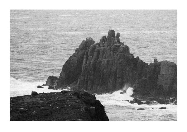 The Armed Knight Rock Formation at Land's End - Cornwall
